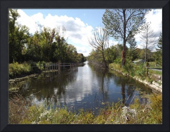 Erie Canal in Summer 01