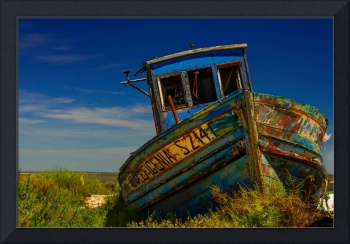Old Boat HDR