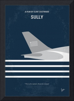 No754 My Sully minimal movie poster