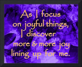 Affirmation: Joyful Things 2