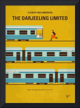 No800 My The Darjeeling Limited minimal movie post