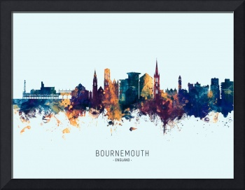Bournemouth England Skyline