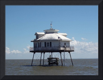 Middle Bay Lighthouse, Mobile Bay