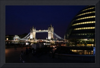 London's Tower Bridge and Mayor's Office