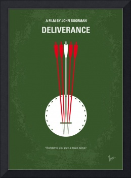 No020 My Deliverance minimal movie poster