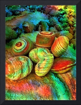 Colored stones by rafi talby