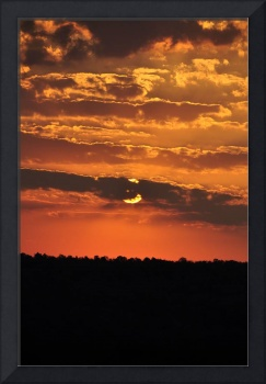 sunsets of africa 002