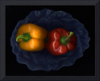 Peppers and Bowl