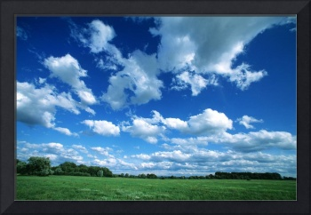 Clouds in the Sky ovr a Country Side