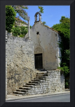 Small church in Dubrovnik, Croatia -original-photo