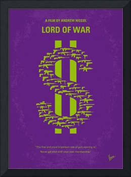 No281 My LORD OF WAR minimal movie poster