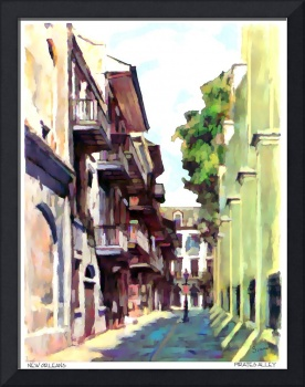Pirates alley pastel