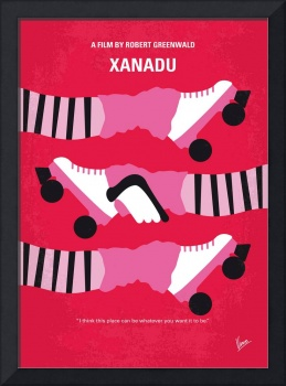 No516 My Xanadu minimal movie poster