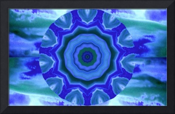 Blue Lotus Dharma Sky Wheel 1