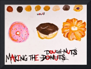 Making The Dough Nut$