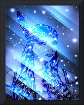 starry indian maiden