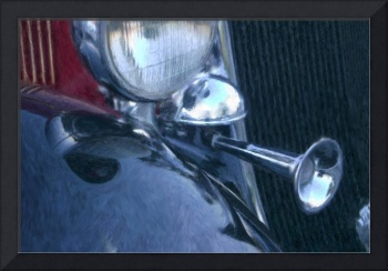 1933 DODGE HEADLIGHTS AND HORN