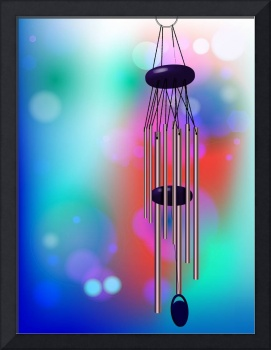 wind chime and lights