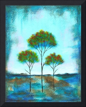 Blessings Trees From Original Painting