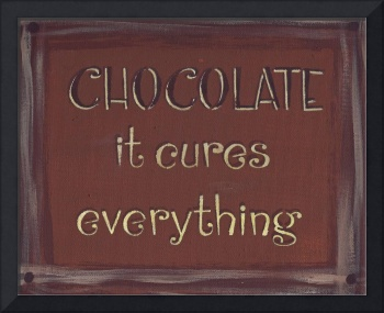 Chocolate Sign (Redish Brown)
