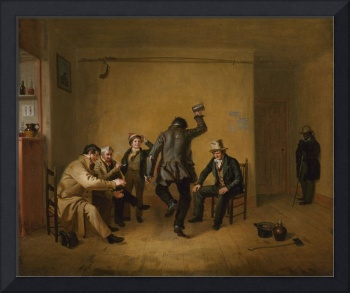 Bar-room Scene, William Sidney Mount, 1835