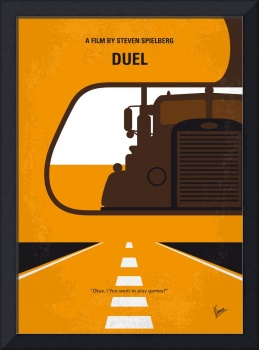 No1111 My Duel minimal movie poster