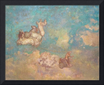 The Chariot of Apollo (1905-1916) by Odilon Redon