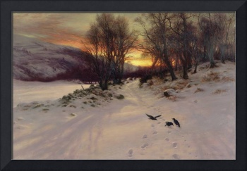 When the West with Evening Glows by J. Farquharson