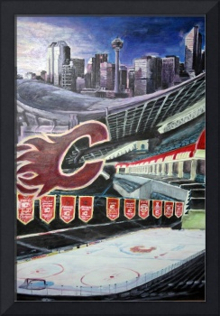 The Saddledome- Calgary Flames