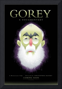 Edward Gorey Coming Soon Bob Staake Poster