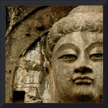 Buddhist Icon Face