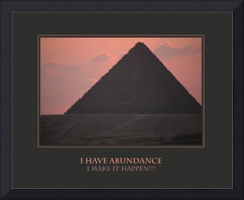 I Have Abundance I Make It Happen Affirmation