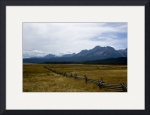 Saw Tooth Mountains by Brandon Watts