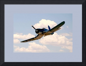 F4U CORSAIR FLYBYMedium Borders
