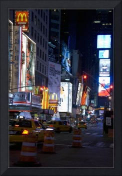 Times Square Late Night