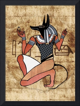 Anibus Guardian Egyptian Folk Art