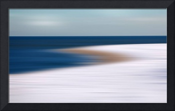 Lighthouse Beach in Winter (Long Exposure)