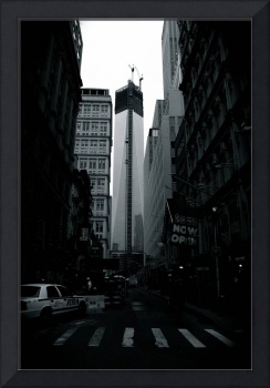World Trade Center Under Construction