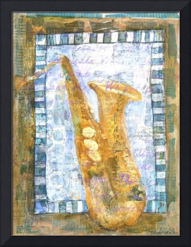 Saxophone Print | musical instruments | Sax Appeal