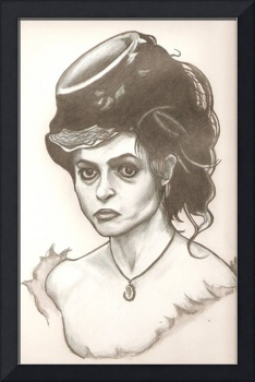 Helena Bonham Carter drawing