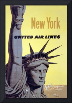 New York Travel Poster 1