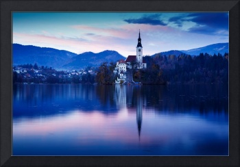 Lake Bled and the Island church