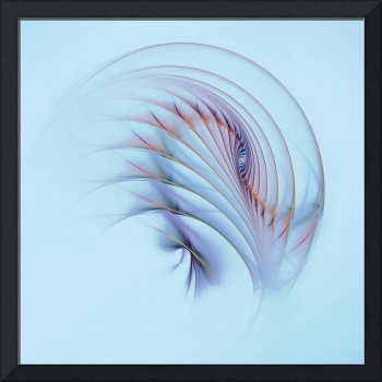Fractal Flame Abstract Feather