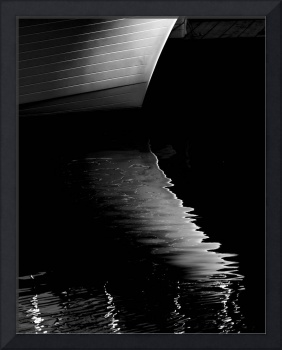 Boat Hull Reflection