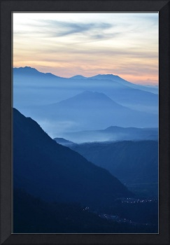 Sunset Photo Framed Photo