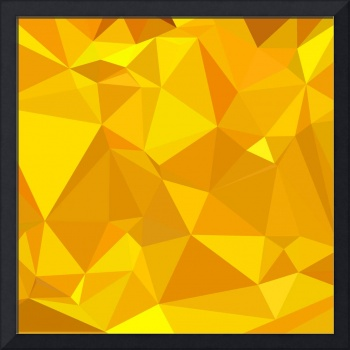 Peridot Yellow Abstract Low Polygon Background