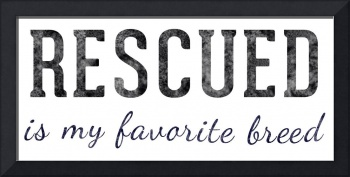 Rescued Is