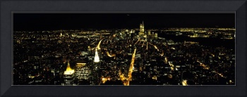 Aerial view of a city New York City New York Stat