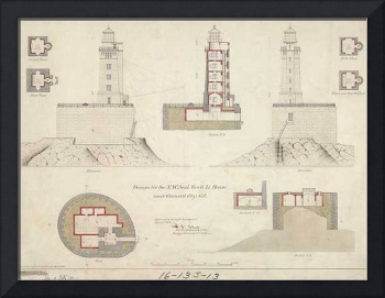 St. George Reef Lighthouse Blueprints
