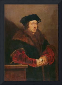 Portrait of Sir Thomas More (oil on canvas)